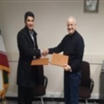 Professor Rovshan Khalilov, visited Tabriz Univers