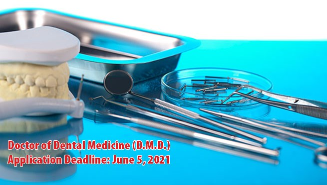 Doctor of Dental Medicine (D.M.D.) at SUMS-2020